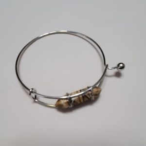 Jewelry - Stone Bracelets Tan or Black&Gray